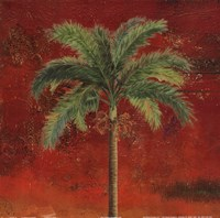 La Palma on Red II Fine-Art Print