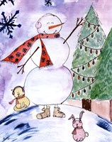 Yet Another Snowman Fine-Art Print
