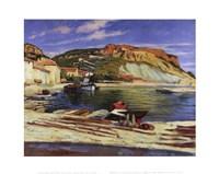 Cassis Pier Fine-Art Print