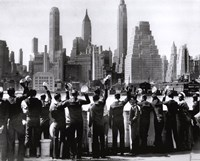 Sailors in NY Fine-Art Print