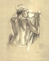 Celine Looking Out Fine-Art Print