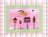 Flyby Fairy - Bird house Fine-Art Print