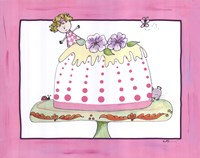 Sophie and the Tea Cake Fine-Art Print
