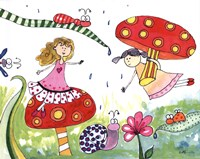 Springtime Fairies Fine-Art Print