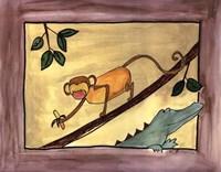 Brown Monkey Fine-Art Print