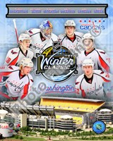 Washington Capitals 2010 Winter Classic Portrait Plus Fine-Art Print