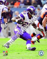 Adrian Peterson 2010 Action Fine-Art Print