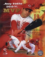 Joey Votto 2010 National League MVP Portrait Plus Fine-Art Print