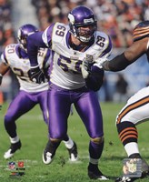 Jared Allen 2010 Action Fine-Art Print