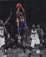 Kobe Bryant 2010-11 Spotlight Action Fine-Art Print