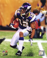 Percy Harvin 2010 Action Fine-Art Print