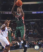 Brandon Jennings 2010-11 Action Fine-Art Print