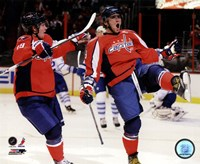 Alex Ovechkin & Nicklas Backstrom 2010-11 Action Fine-Art Print