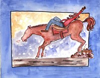 Ride em Cowboy Fine-Art Print