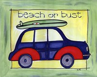 Beach or Bust Fine-Art Print