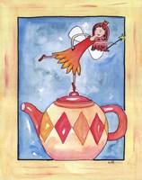 Harlequin Teapot Fairy Fine-Art Print