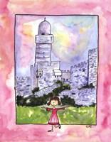 Girl in Israel Fine-Art Print