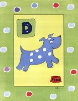 D is for Dog Fine-Art Print