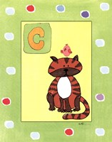 C is for Cat Fine-Art Print