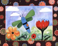 Patchwork Butterfly Fine-Art Print
