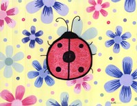 The Funky Flower Ladybug Fine-Art Print