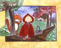 Little Red Riding Hood Fine-Art Print