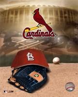 Cardinals -  Logo / Cap Fine-Art Print