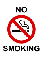 No Smoking - sign Fine-Art Print