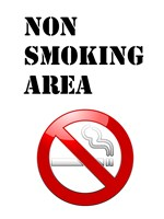 Non Smoking Area Fine-Art Print