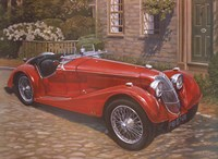 Riley Red Roadster Fine-Art Print