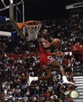 Michael Jordan 1987 Slam Dunk Contest Fine-Art Print