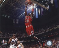 Michael Jordan 1996-97 Action Fine-Art Print