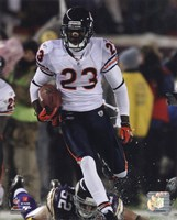 Devin Hester sets an NFL Record with his 14th Career Return for a Touchdown Fine-Art Print