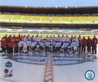 The Washington Capitals Team Photo 2011 NHL Winter Classic Fine-Art Print