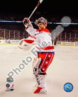 Semyon Varlamov 2011 NHL Winter Classic Action Framed Print