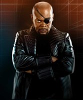 Iron Man 2 Nick Fury Wall Poster