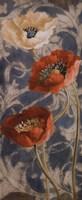 Poppies de Bleu II Fine-Art Print