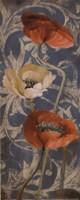 Poppies de Bleu I Fine-Art Print