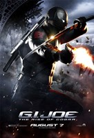 G.I. Joe: Rise of Cobra - shooting Wall Poster