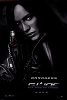 G.I. Joe: Rise of Cobra - Baroness Wall Poster