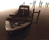 Boat III (Sepia) Fine-Art Print