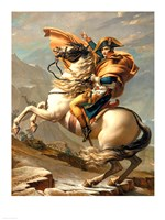 Napoleon (1769-1821) Crossing the Alps at the St Bernard Pass Fine-Art Print