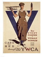 For Every Fighter a Woman Worker YWCA Fine-Art Print