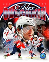 Alex Ovechkin 2011 Portrait Plus Fine-Art Print