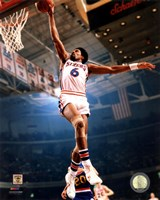 Julius Erving 1974 Action Fine-Art Print