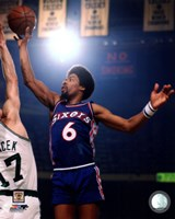 Julius Erving 1975 Action Fine-Art Print