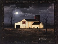 Moonlit Farmstead Fine-Art Print