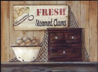 Steamed Clams Fine-Art Print