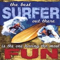 Fun- Surfing Fine-Art Print