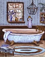 Tranquil Tub I - mini Fine-Art Print
